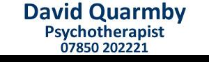 David Quarmby Psychotherapist